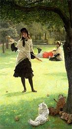 Croquet, c.1878 by Joseph Tissot | Painting Reproduction