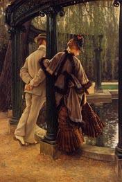 Quarrelling, c.1874/76 by Joseph Tissot | Painting Reproduction