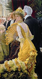 The Ball, c.1885 by Joseph Tissot | Painting Reproduction