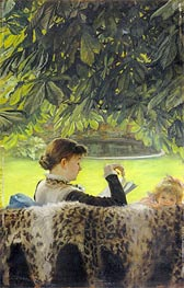 Quiet, undated by Joseph Tissot | Painting Reproduction