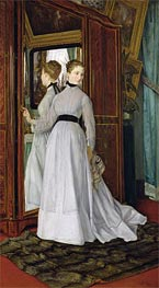 L'Armoire, 1867 by Joseph Tissot | Painting Reproduction