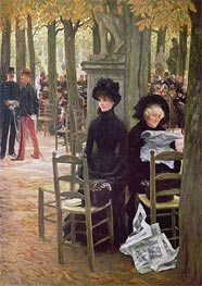 Without a Dowry (Sans Dot), c.1883/85 by Joseph Tissot | Painting Reproduction