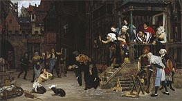 The Return of the Prodigal Son, undated by Joseph Tissot | Painting Reproduction