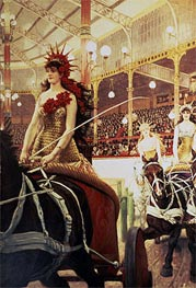 The Ladies of the Cars, c.1883/85  by Joseph Tissot   Painting Reproduction