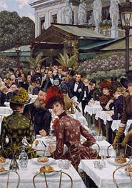 The Artists' Wives, 1885 by Joseph Tissot | Painting Reproduction