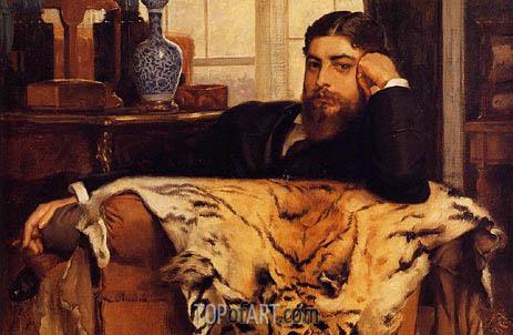 Algeron Moses Marsden, 1877 | Joseph Tissot | Gemälde Reproduktion