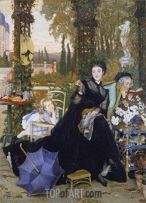 Joseph Tissot | A Widow, 1868