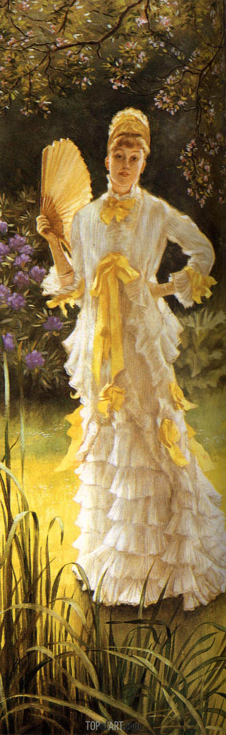 Joseph Tissot | Spring (Specimen of a Portrait), c.1878