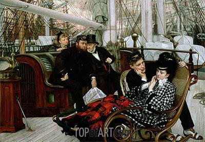 Joseph Tissot | The Last Evening, 1873
