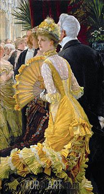 Joseph Tissot | The Ball, c.1885