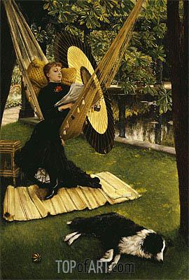 The Hammock, undated | Joseph Tissot | Painting Reproduction