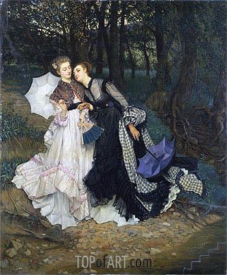Joseph Tissot | The Secret (Confession), c.1867