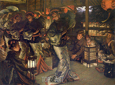 Joseph Tissot | The Prodigal Son in a Foreign Land, 1880