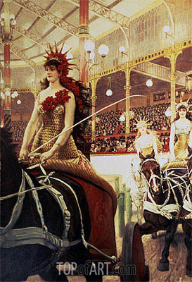 The Ladies of the Cars, c.1883/85  | Joseph Tissot | Painting Reproduction