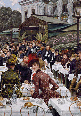 The Artists' Wives, 1885 | Joseph Tissot| Painting Reproduction