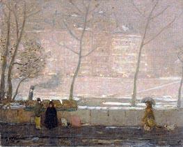 Quai des Grands-Augustins, c.1890/05 von James Wilson Morrice | Gemälde-Reproduktion
