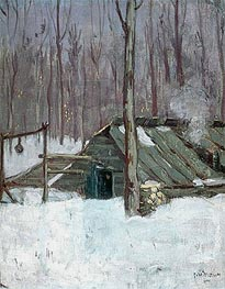 Sugar Bush | James Wilson Morrice | outdated