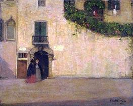 Campo San Giovanni Nuovo, Venice, c.1901/02 von James Wilson Morrice | Gemälde-Reproduktion
