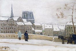 Notre-Dame, Paris | James Wilson Morrice | Painting Reproduction