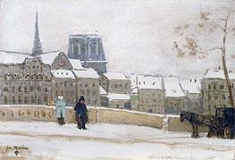 Notre-Dame, Paris, c.1901/02 von James Wilson Morrice | Gemälde-Reproduktion