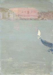 Prow of a Gondola, Venice, c.1897 von James Wilson Morrice | Gemälde-Reproduktion