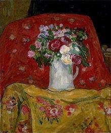 Flowers, c.1911/12 von James Wilson Morrice | Gemälde-Reproduktion