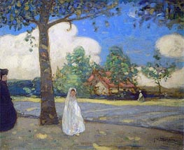 The Communicant | James Wilson Morrice | Painting Reproduction