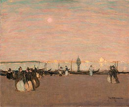Evening Stroll, Venice | James Wilson Morrice | outdated