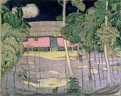 James Wilson Morrice | Landscape, Trinidad, c.1921