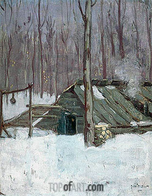 Sugar Bush, c.1897/98 | James Wilson Morrice | Gemälde Reproduktion