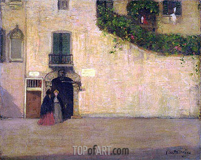 James Wilson Morrice | Campo San Giovanni Nuovo, Venice, c.1901/02