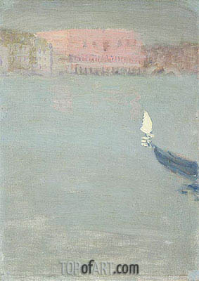 Prow of a Gondola, Venice, c.1897 | James Wilson Morrice | Painting Reproduction