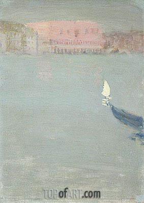 James Wilson Morrice | Prow of a Gondola, Venice, c.1897