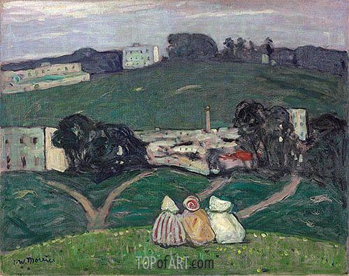 James Wilson Morrice | Landscape, Tangiers, 1912