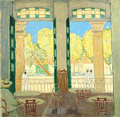 James Wilson Morrice | Café el Pasaje, Havana, c.1915/19
