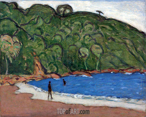 Landscape, Trinidad, 1921 | James Wilson Morrice| Painting Reproduction