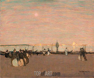 James Wilson Morrice | Evening Stroll, Venice, undated