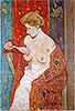 Woman in Red Bathrobe | James Wilson Morrice