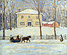 The Old Holton House, Montreal | James Wilson Morrice