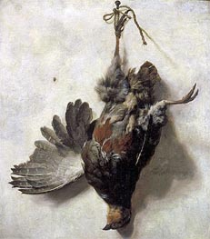 Dead Partridge, undated von Jan Baptist Weenix | Gemälde-Reproduktion