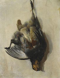 A Still Life of a Grey-Leg Partridge, Undated von Jan Baptist Weenix | Gemälde-Reproduktion