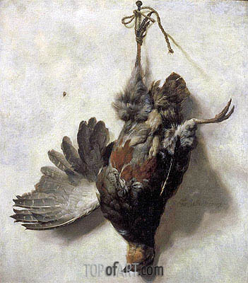 Dead Partridge, undated | Jan Baptist Weenix | Painting Reproduction