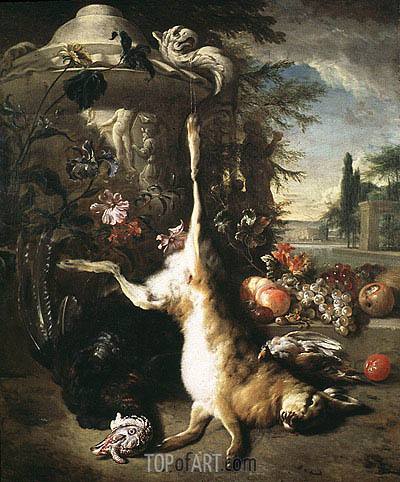 Jan Baptist Weenix | Still Life with Dead Hare, undated