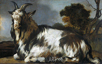 Jan Baptist Weenix | Liggende Bok, c.1645/60