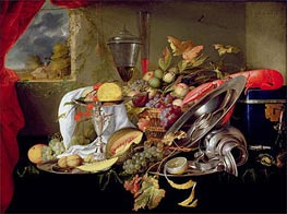 Still Life, Undated by de Heem | Painting Reproduction