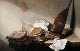 Still Life with Books | de Heem | outdated