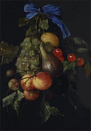 Fruit Cluster, 1651 by de Heem | Painting Reproduction