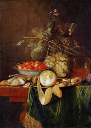 Still Life with Peeled Lemon | de Heem | Gemälde Reproduktion