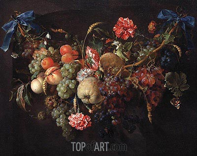de Heem | Fruit Garland, c.1650/60