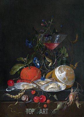 Still Life, c.1664/65 | de Heem| Painting Reproduction